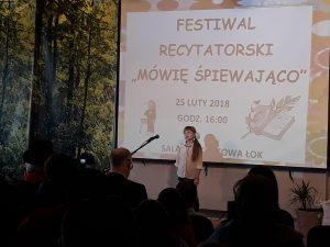 """W Łubniańskim Ośrodku Kultury recytowali """"Śpiewająco"""" 19"""