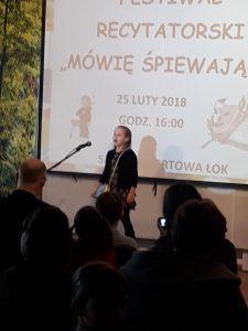 """W Łubniańskim Ośrodku Kultury recytowali """"Śpiewająco"""" 21"""