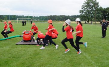 Zdrowa rywalizacja, czyli strażacy w zawodach w Brynicy 8