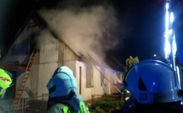 Pożar w Czarnowąsach. Jedna osoba nie żyje 6