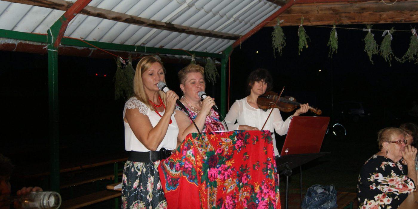 Śpiewanki nad Odrą w strugach deszczu 1
