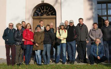 Zwiedzali gminę Popielów 9