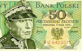 Historia banknotu z ponurym generałem 1