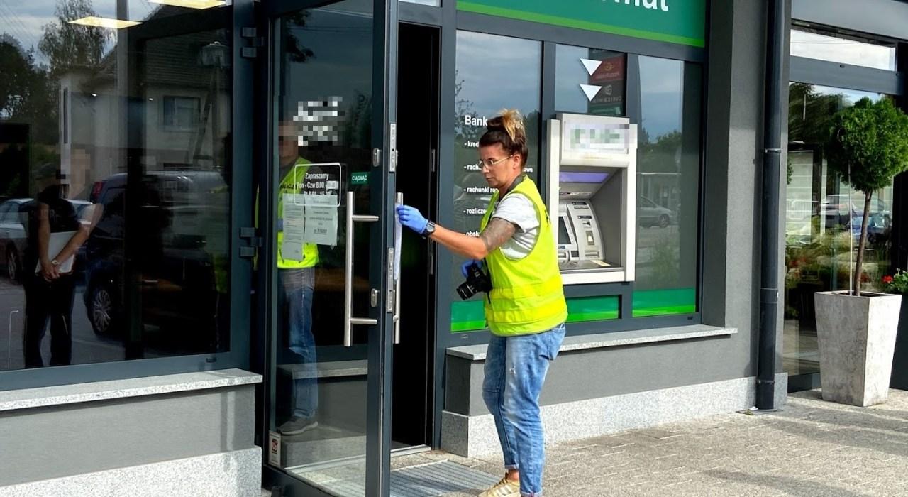 Bank w Czarnowąsach znowu znalazł się na celowniku złodziei 4