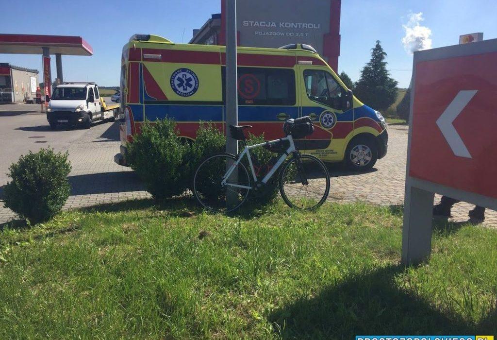 20-latka potrąciła rowerzystkę w Dobrzeniu Wielkim 1