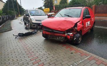 Jedna osoba ranna w wypadku w Dobrzeniu Wielkim 3