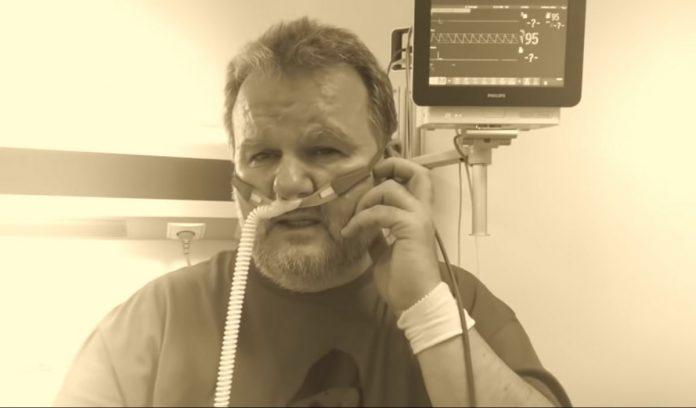 Hospitalizowany z powodu COVID-19 były szef GIS śpiewa dla Górniak: Ja nie jestem statystą… 1