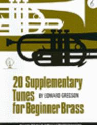 Gregson - 20 Supplementary Tunes Beginner Brass (Treble Clef)