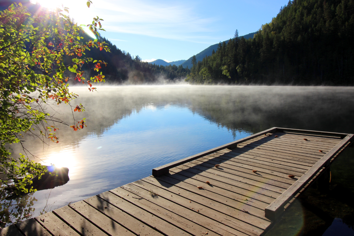 September cabin availability fishing updates and more for Echo lake ca cabine