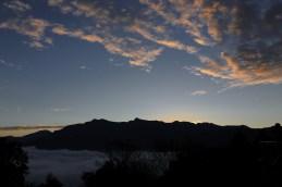 剛剛到小笠原山觀景台的情況