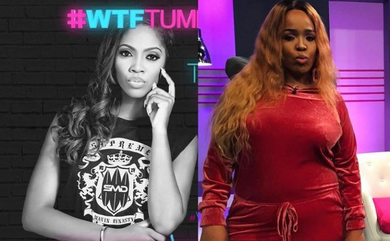 Tiwa Savage disappoints South African Tv Star Tumi Morake on