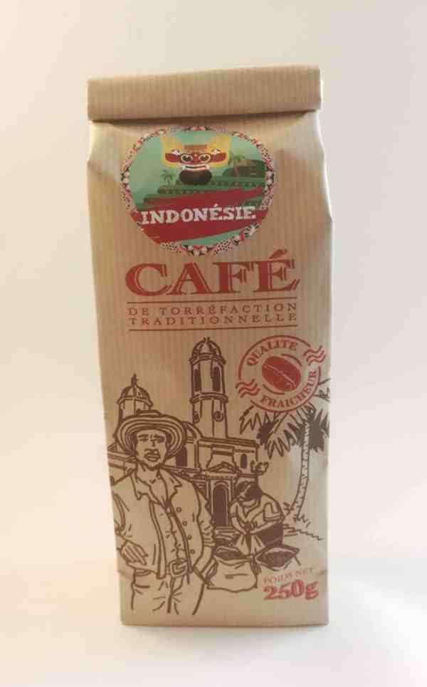 Café Arabica Bio Sumatra Indonésie