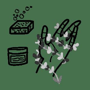 box jardinage bio : produits bios et vegans pour l'entretien des mains vertes   l'échoppe végétale