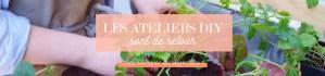 atelier jardinage décoration pour débutant à Paris et Nanterre