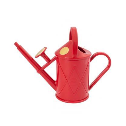 arrosoir rouge 1 L qualité, design, pomme amovible, semis et plantes d'intérieur, échoppe végétale