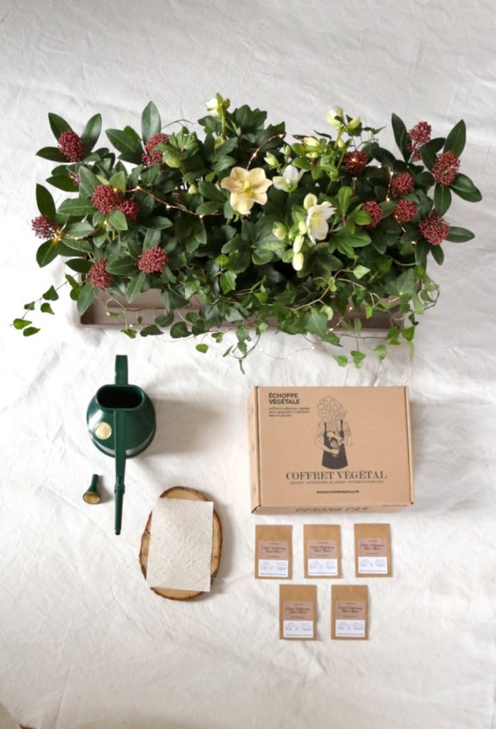 vente plante paris, kit jardinage de plantes et graines bios pour balcon | Jardinerie