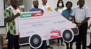 PUMA ENERGY PIC 1 698x375 1 300x161 - COVID-19: Puma Energy donates GHS223,000 worth of fuel to Ambulance Service
