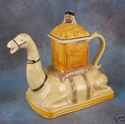 Camel teapot totally impractical but I LOVE IT!