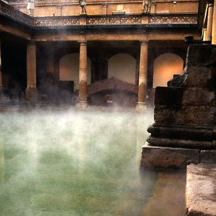 roman bath the only way to relax