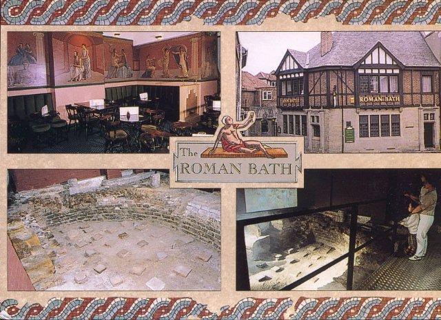 roman bath in York