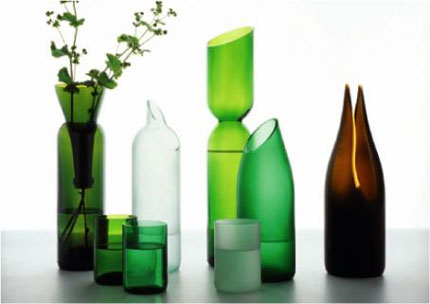 vessels designed for transglass by tord boontje and emma woffenden
