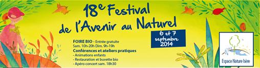 Festival de l'avenir au naturel 2014