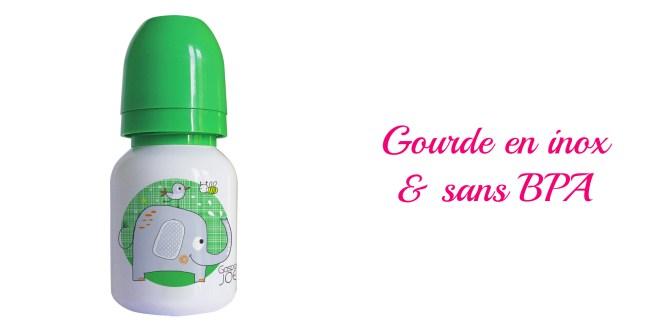Gourde enfant inox sans BPA- cadeau écolo enfants