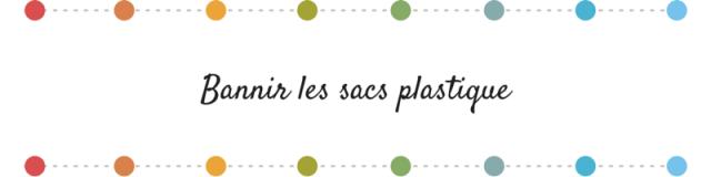 Bonne résolution 2015- bannir les sacs plastiques