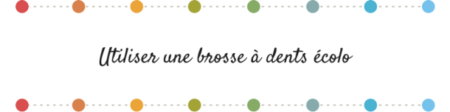 Bonne résolution 2015- brosse à dents écolo