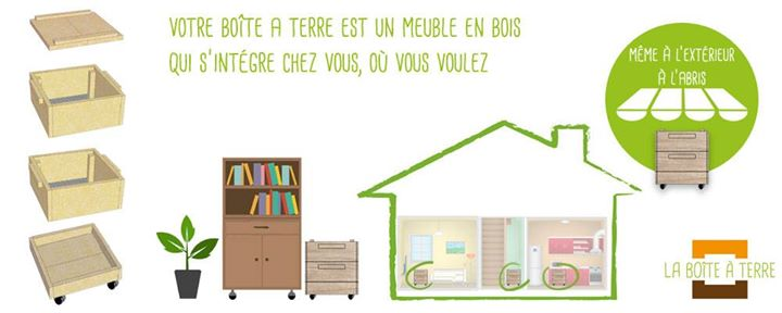 la bo te terre pour composter sans jardin ni balcon. Black Bedroom Furniture Sets. Home Design Ideas