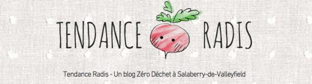Tendance radis blog zéro déchet