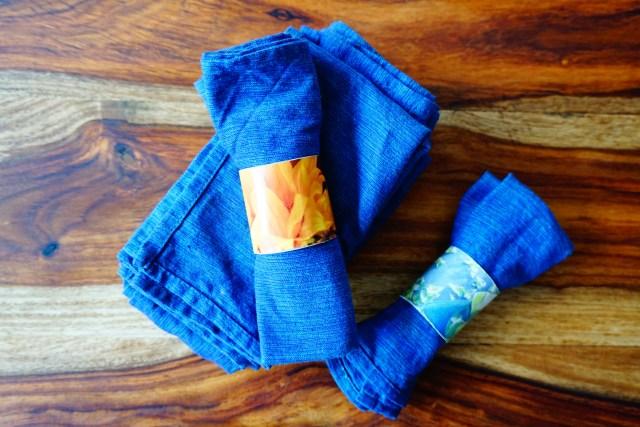 cuisine zéro déchet serviettes de table copyright echosverts.com