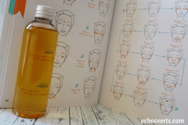 Soin du visage huile végétale massage slow cosmétique echosverts.com