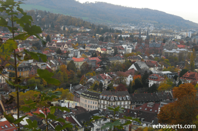 Freiburg Im Breisgau Allemagne automne echosverts.com