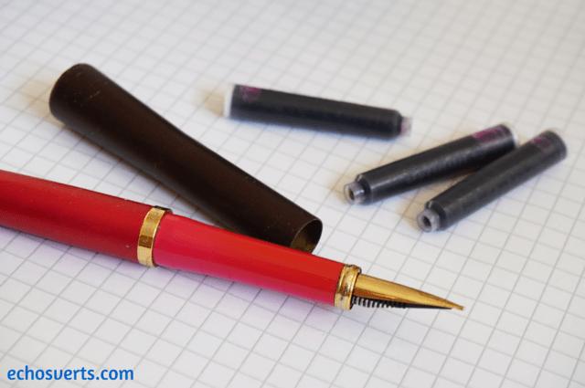 stylo à plume rechargeable echosverts.com