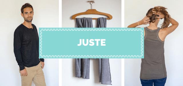 Juste ma révolution textile vêtements made in France