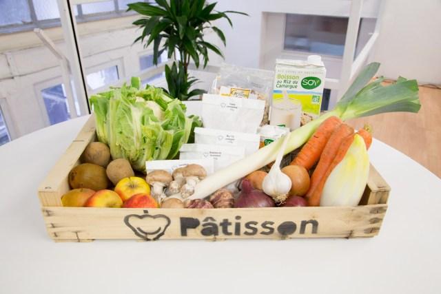 Panier Patisson bio local végétal