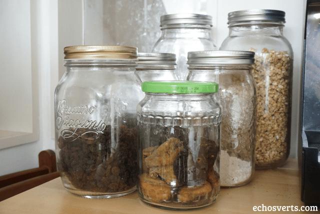 Bocaux mason jars cuisine
