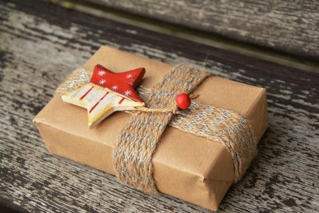 Emballage cadeau écolo récup' PIXABAY