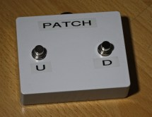 The patch change footswitch.