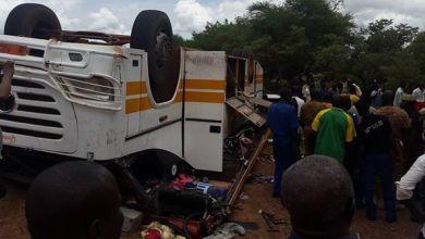 """صورة مراسل الشـروق : وفاة 18 شخصا في حادث مروع بعد تفحمهم في حافلة لشركة """"سونف """""""