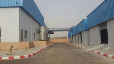 صورة إدارة مصنع الألبان في النعمة : الأشغال اكتملت والعمل يسير بشكل طبيعي