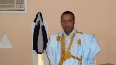 صورة مطالب بإعادة الدكتور الأديب ولد حماده إلى مستشفى ألاك