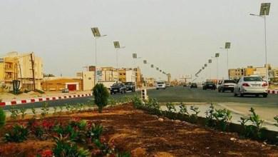 صورة نواكشوط تتزين للقمة العربية