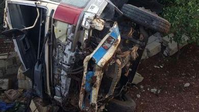 صورة وفاة شخصين وجرح 6 آخرون في حادث سير مروع على طريق ميناء نواكشوط المستقل