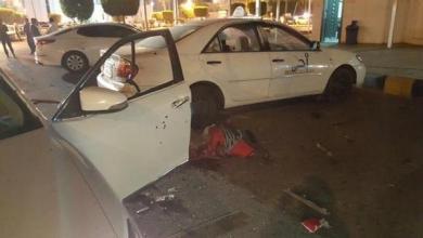 صورة انتحاري يفجر نفسه قرب القنصلية الأميركية في جدة