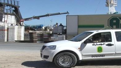 صورة الجمارك يضبط حاوية محملة بالخمور في ميناء نواكشوط المستقل