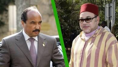 صورة بعد الحديث عن فتور في علاقات البلدين..الملك المغربي يوجه دعوة للرئيس الموريتاني