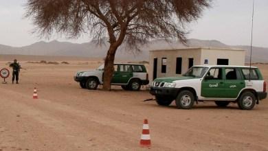 صورة الحرس الجــزائري يعتقل 84 مغربيا