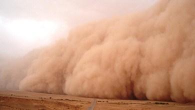 صورة عــاجل / عاصفة رملية شديدة تتسبب في وفاة شخصين وجرح العشرات  في بلدية فم لكليتة بمقاطعة أمبود